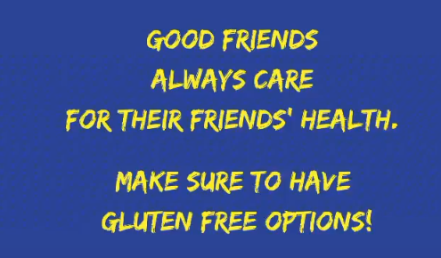 Gluten Free Situations